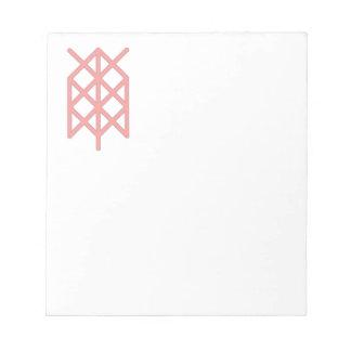 life warrior/ survivor bindrune notepad