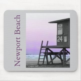 Lifeguard Tower Newport Beach Mousepad