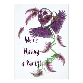 Life's a Party - Party Invittions 13 Cm X 18 Cm Invitation Card