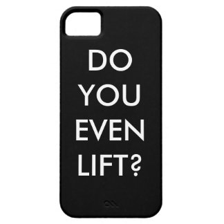 Lift? Motivation to gym Barely There iPhone 5 Case