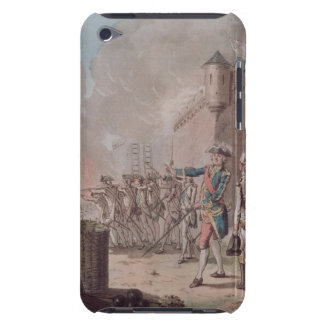 Lifting of the Siege of Pondicherry, 1748, engrave Case-Mate iPod Touch Case