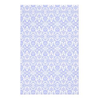 Ligh Blue Damask Craft Paper