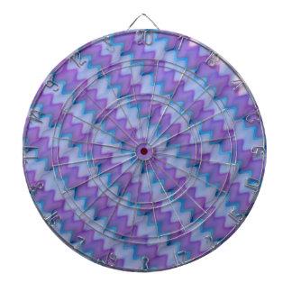 Light Beams  : Purple Blue Hue Colorful Spectrum Dartboard