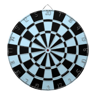 Light Blue And Black Dart Boards