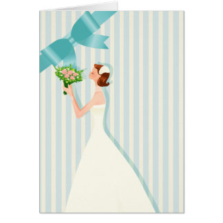 Light Blue Bridal Shower Invitation