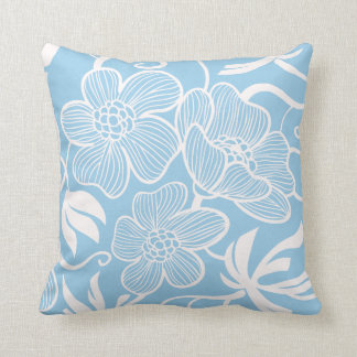Light Blue Decorative Pillow