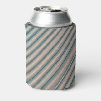 Light Blue Diagonal Folded Tissue Paper Can Cooler