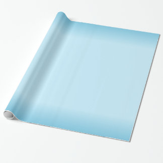 Light Blue Gradient Wrapping Paper
