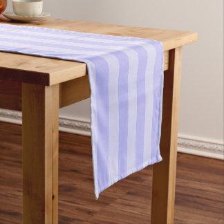 Light Blue Stripes Short Table Runner