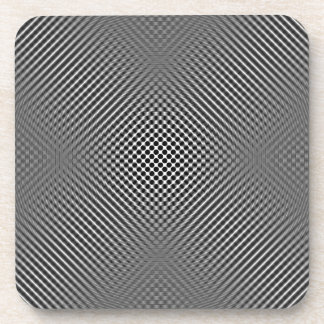 Light carbon fiber skin drink coasters