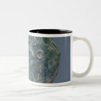 Light follis  of Baldwin II, Count of Edessa Two-Tone Coffee Mug