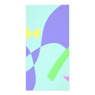 Light Gentle Soft Abstract Photo Card