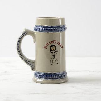 Light Girl Martial Artist Coffee Mug