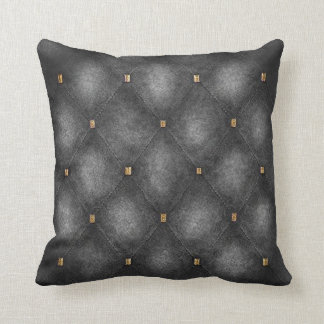 Light Grey Quilted Look Cushion