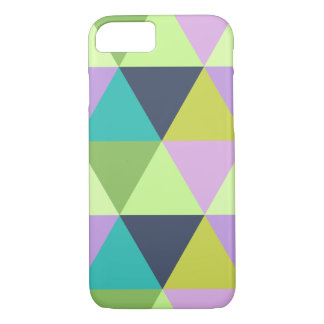 Light harlequin pastel quilt pattern iPhone 8/7 case