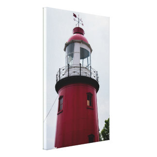 Light House Canvas Print,Rotterdam NL