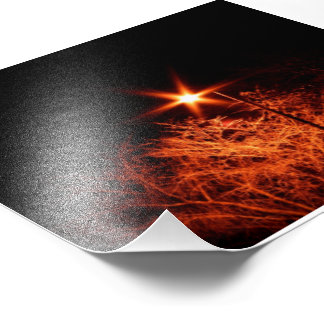 Light in the dark photographic print