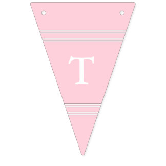 Light Pastel Pink Wedding Decorations Bunting