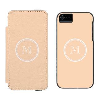 Light Peach High End Colored Incipio Watson™ iPhone 5 Wallet Case