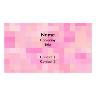 Light Pink Abstract Pattern. Business Card Template