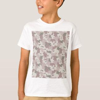 Light Pink Camouflage T-Shirt