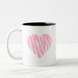 Light Pink Wild Heart Mugs