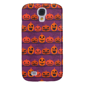 Light Purple Halloween Galaxy S4 Case