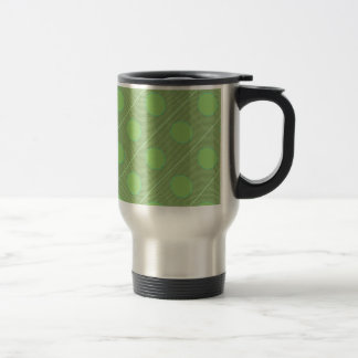 Light Shade Green Dot Theme Coffee Mug