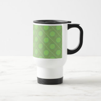 Light Shade Green Dot Theme Mugs