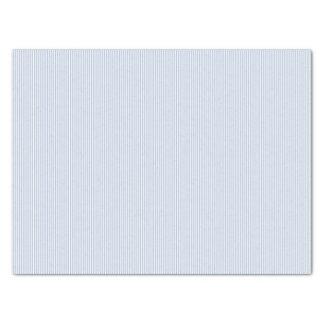 Light Steel Blue Stripes Tissue Paper