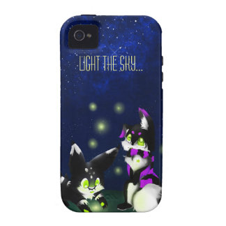 Light the sky Case-Mate iPhone 4 cases