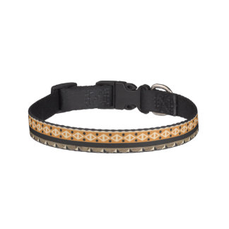 light tribal dog collar