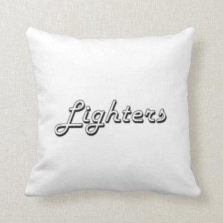 Lighters Classic Retro Design Throw Cushion