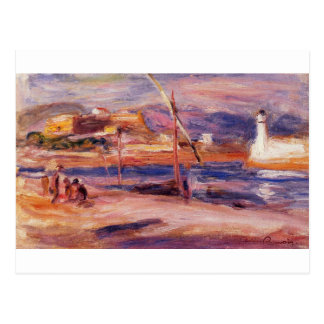Lighthouse and Fort Carre Antibes by Pierre-August Postcard