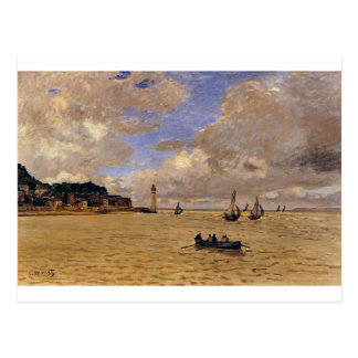 Lighthouse at the Hospice by Claude Monet Postcard