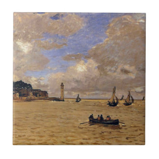 Lighthouse at the Hospice by Claude Monet Tile