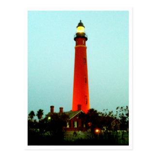 Lighthouse Daytona The MUSEUM Zazzle Gifts Postcard