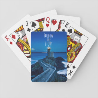 Lighthouse Follow the Light Playing Cards