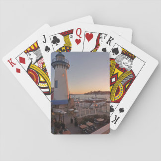 Lighthouse in Fisherman's Village, Marina del Rey Playing Cards