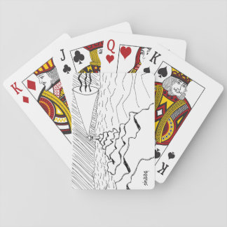 Lighthouse in New England Playing Cards