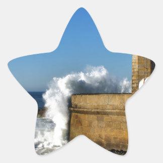 Lighthouse in Porto Star Sticker