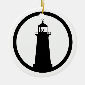 lighthouse Symbol Christmas Ornament