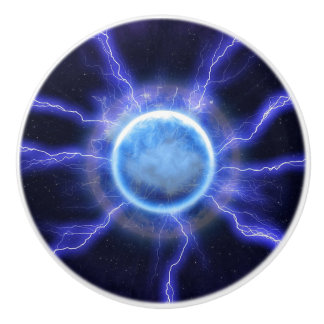 Lightning Energy Custom Ceramic Knob