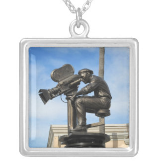 Lights, Camera, Action! Silver Plated Necklace