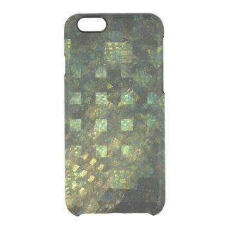 Lights in the City Abstract Art Clear iPhone 6/6S Case