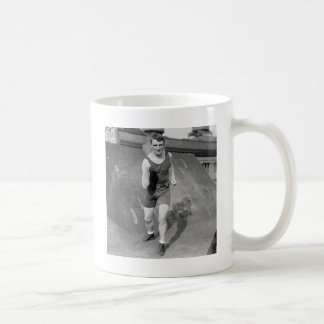 Lightweight Boxer Fred Welsh, early 1900s Coffee Mug