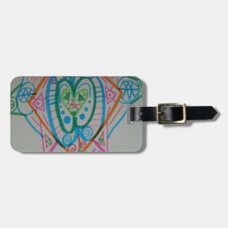 Lightworker Alignment Activation Travel Bag Tag