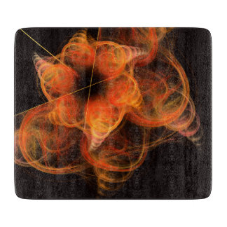 Lightworks Abstract Art Rectangle Cutting Board