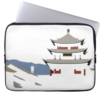 Lijiang Temple Laptop Sleeve