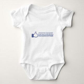 Like Ron Paul - 2012 election president vote Baby Bodysuit